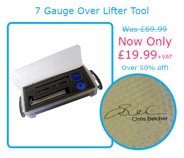 7 Gauge Over Lifter Tool | Was £69.99 | Now Only £19.99+VAT | Over 50% off!