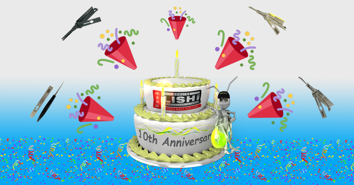 Genuine Lishi 10th Anniversary at TradeLocks!
