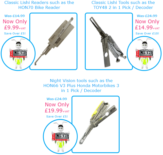 Genuine Lishi Tool Deals