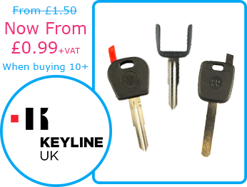 Keyline Horseshoe Keys and Pod Car Keys