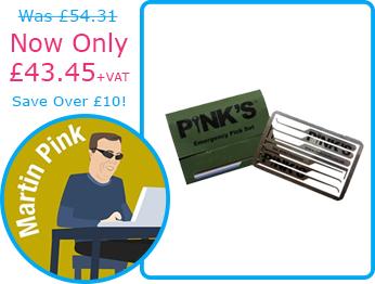 Pink's Emergency Pick Set