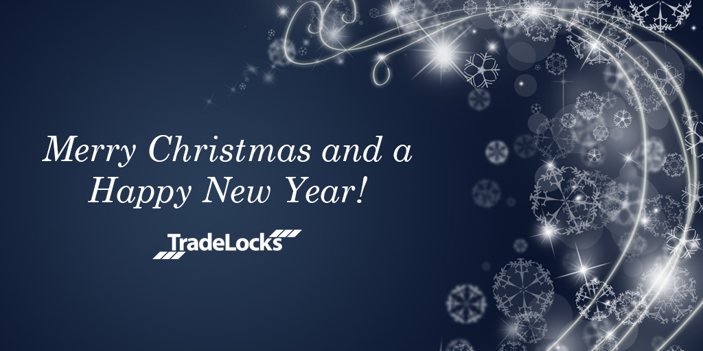 Merry Christmas and a Happy New Year TradeLocks