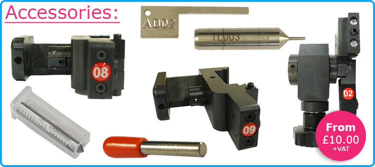Key Cutting Machine Accessories