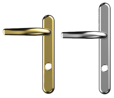 High Security Front Door Handles