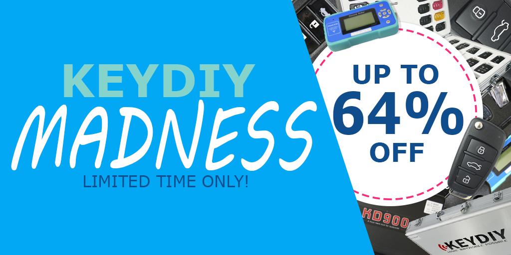 KeyDIY Madness Sale