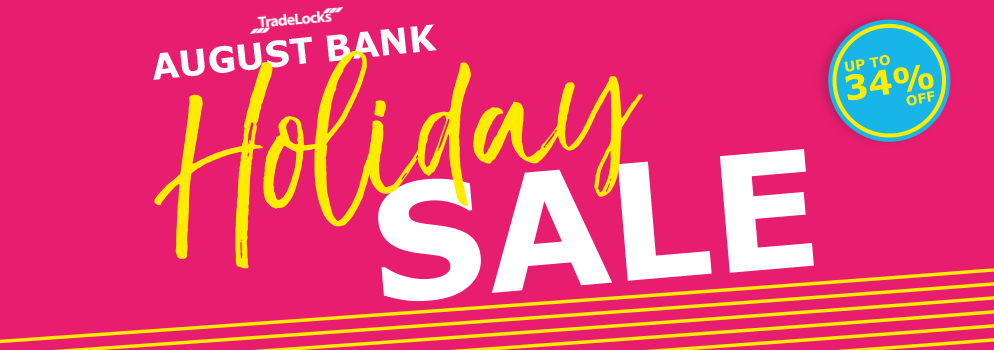 TradeLocks August Bank Holiday Sale
