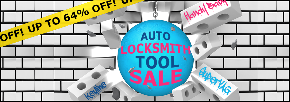 Auto Locksmith Tool Sale