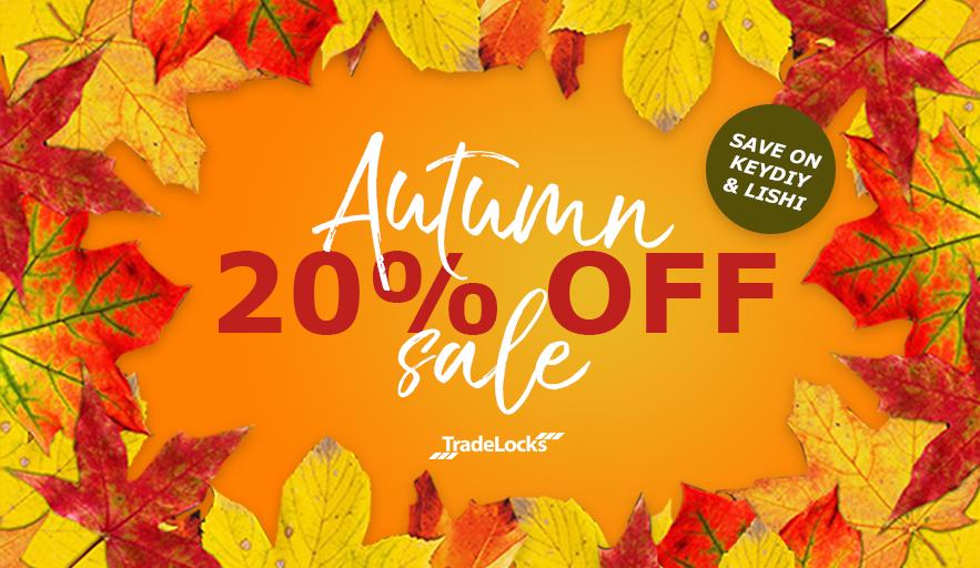 TradeLocks Autumn Sale