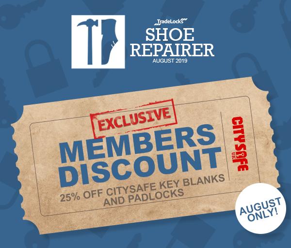 Shoe Repairer Member Discount