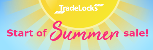 TradeLocks Start of Summer Sale