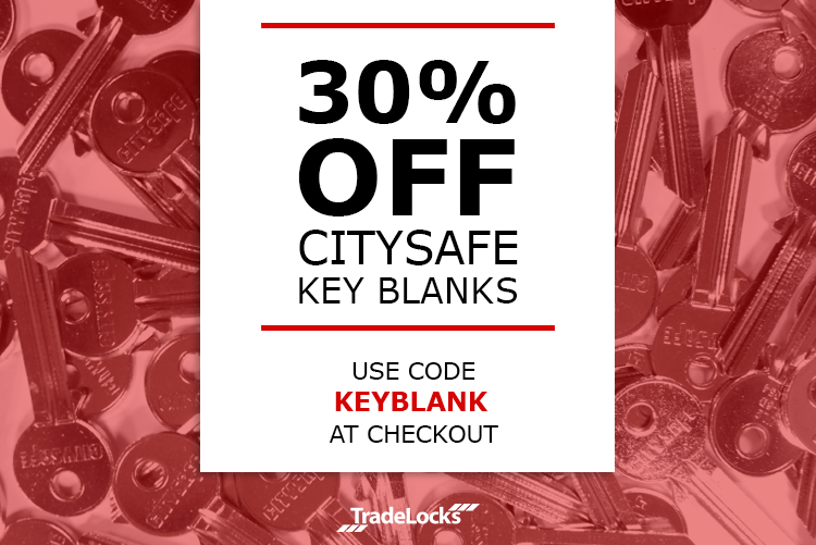 30% off Key Blanks