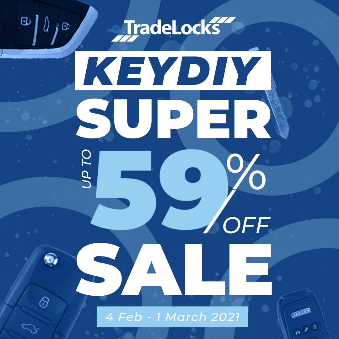 KeyDIY Super Sale